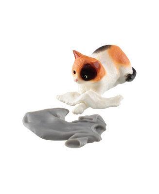 Z138 Epoch Capsule Animal Jama Neko Cat Part2 Kitten Tortoiseshell Calico Cat