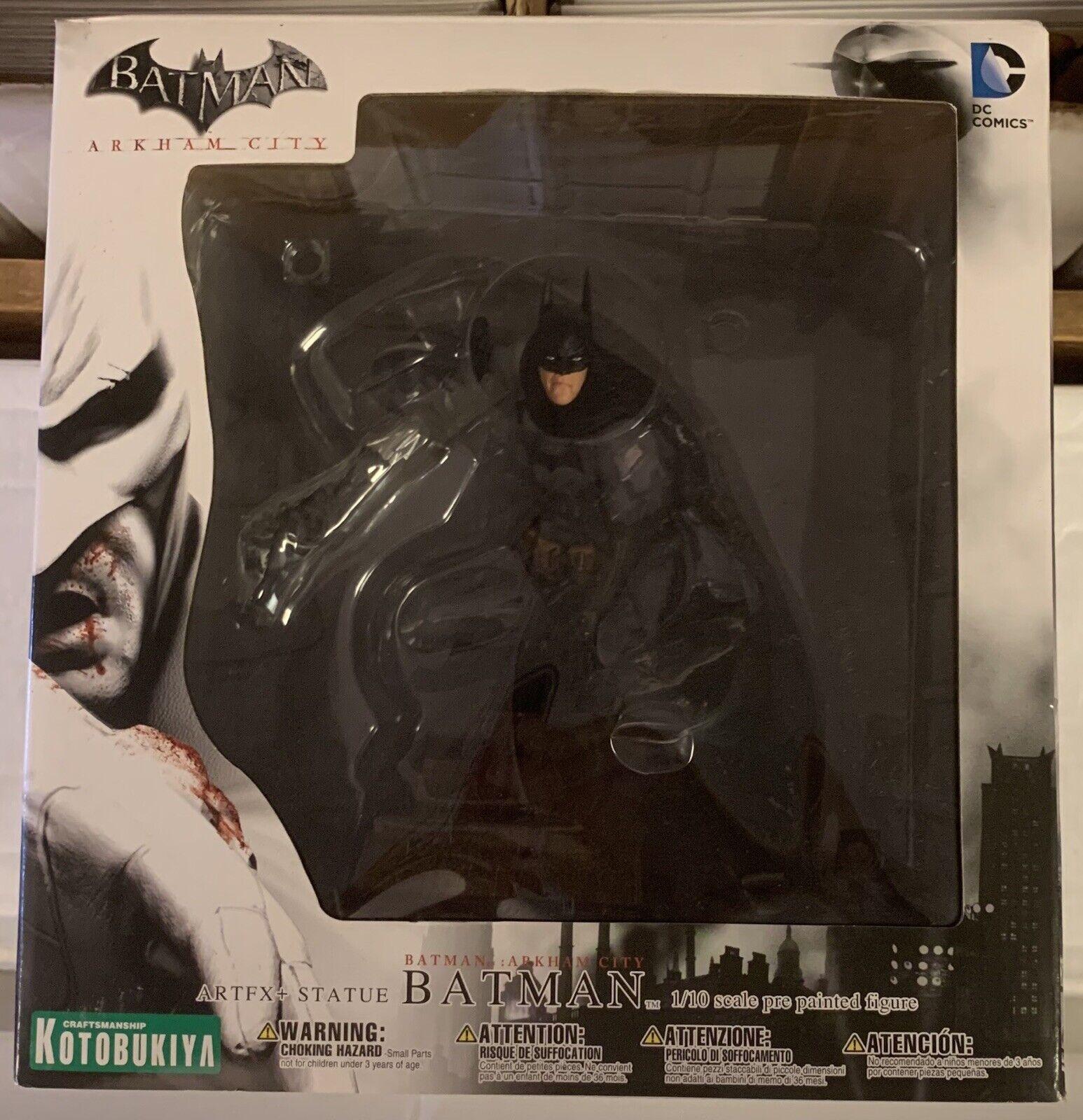 Batman ArtFX Statue Batman Arkham City DC Comics New
