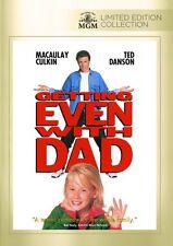 Getting Even with Dad DVD (1994) - Macaulay Culkin, Ted Danson, Howard Deutch