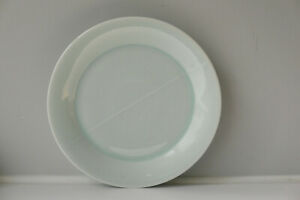 Takeshi Yasuda Studio Pottery Porcelain Redhouse Plate Celadon Glaze