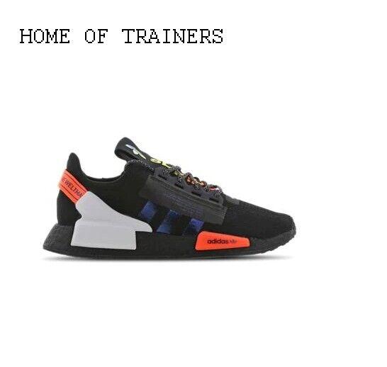 Adidas Nmd R1 Trainers Black Mono Uk 7 Eu 40 7 Em37 43 For Sale