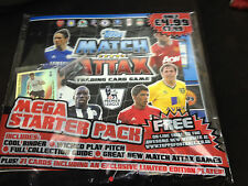 Limited Edition Topps Match Attax  2011/2012 Mega Starter Pack Incl. Gareth Bale