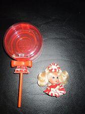Vintage Liddle Kiddle Lolli Mint Lollipop Sucker Doll Sweet Treat Little Pepper