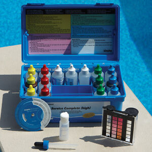 Taylor The Complete 2005 Pool Test Kit With 2 Oz Reagents