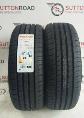 195 55 15 Maxxis Premitra Hp5 195 55r15 85v Tyres X 2 A Rated Wet Grip Ebay
