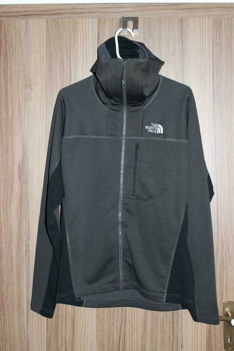 The North Face Super Flux Hooded Jacket darkgrey black Größe M