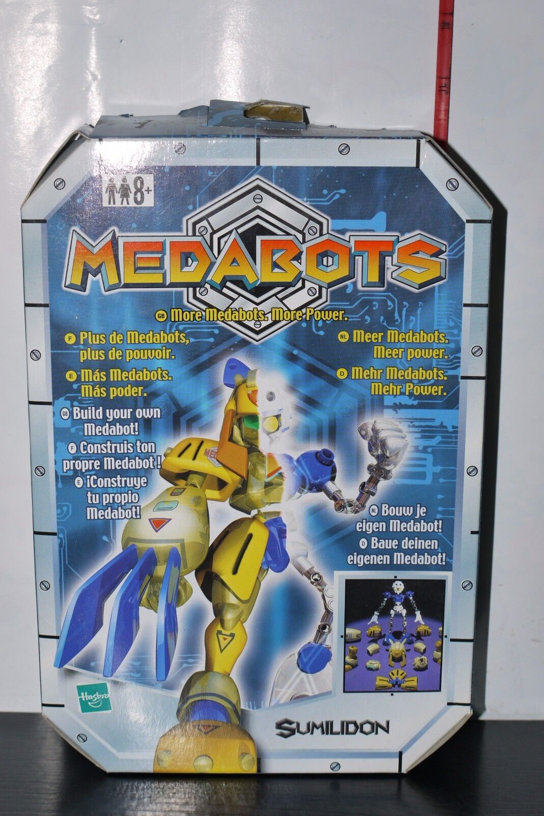 2002 HASBRO TAKARA MEDABOTS Build Your Own SUMILIDON FIGURE KIT BOXED