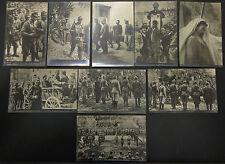 Cesare Battisti - 9 cartoline differnti - nuove