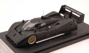 Toyota Ts010 Test Car Suzuka 1992 Noir Mat 1:43 Modèle 8582 Hpi Racing