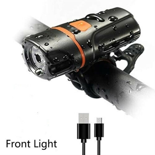 Rechargeable iPX6 1200 Lumens Bicycle Light Bike Headlight LED Taillight USB