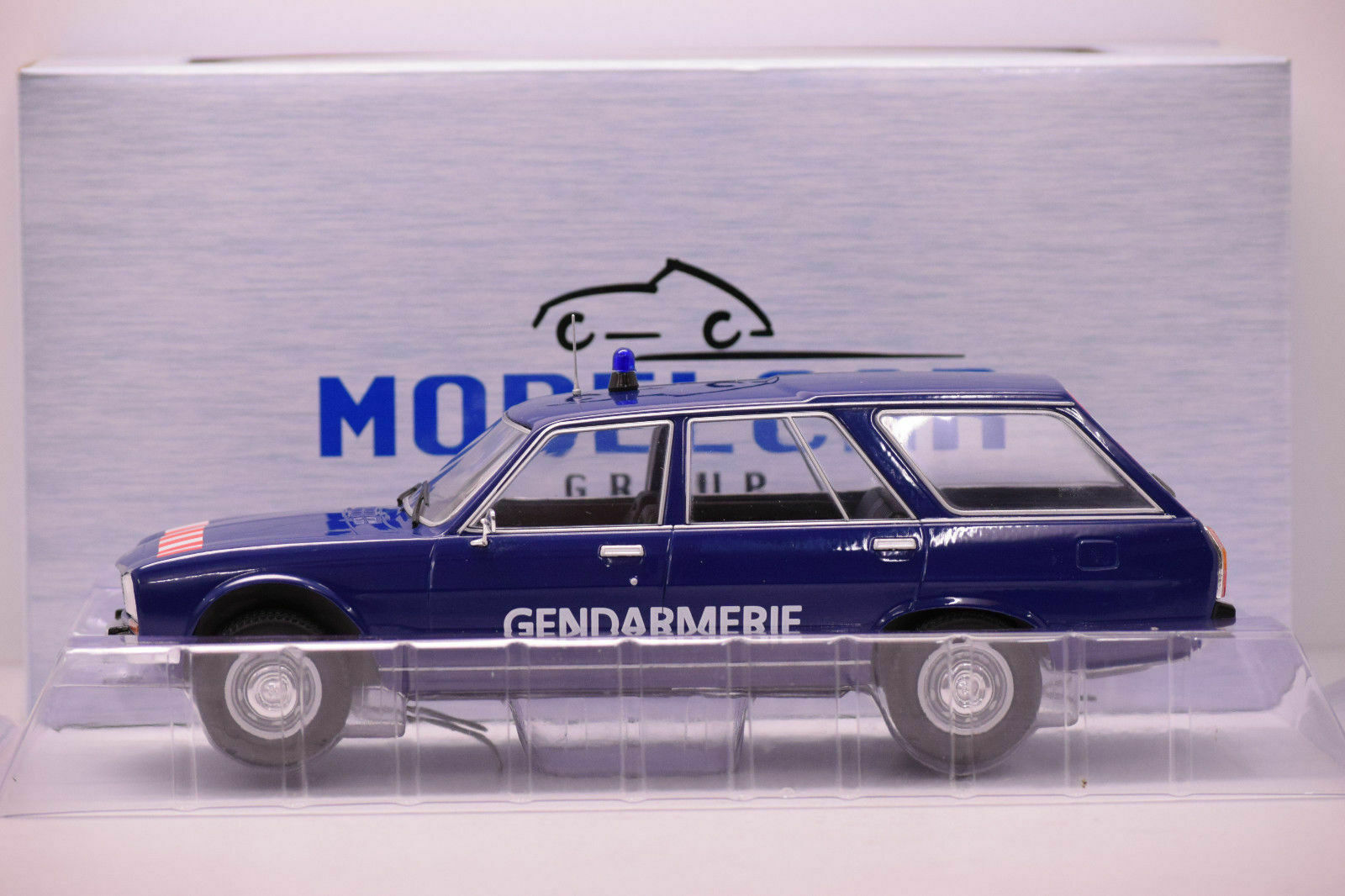 1 18 Peugeot 504 Break Gendarmerie  1974 -1984 Model voiture 18036 Neuf Boite  vente en ligne