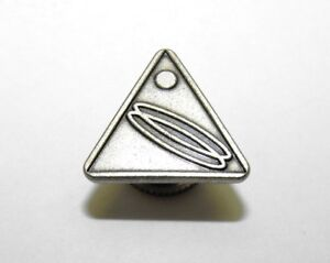 Details about Please Me Help Identify This Vintage Mystery Triangular Lapel  Pin, '85, Chinese