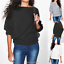 Womens-Ladies-Batwing-Knit-Sweater-Long-Sleeve-Oversized-Loose-Jumper-Pullover thumbnail 3
