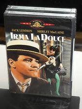 Irma la Douce (DVD) Billy Wilder, Jack Lemmon, Shirley MacLaine, MGM DVD! NEW!