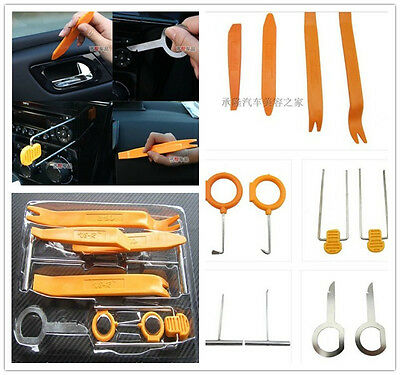 Professional Car Panel Molding Dash Audio Stereo GPS Removal Install Tools 12in1