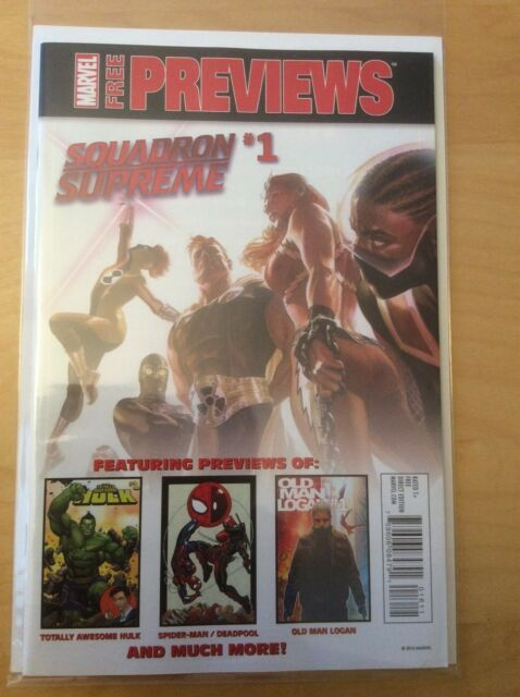 ALL NEW ALL DIFFERENT MARVEL PREVIEWS 1, NM (9.4 - 9.6) (2016) DECEMBER JANUARY