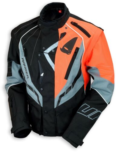 UFO 2018 Ranger MX Enduro Jacket - Black Grey Orange - XX Large