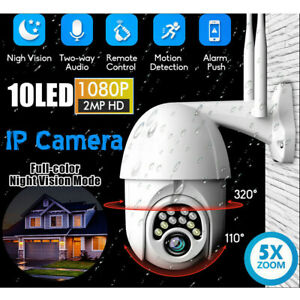 1080P-HD-IP66-CCTV-Camera-Waterproof-Outdoor-WiFi-PTZ-Security-Wireless-IR-Cam