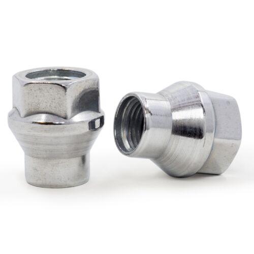 Lug Nuts Open End ET 12x1.25 Chrome 24 Pieces