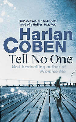 """""""AS NEW"""" Coben, Harlan, Tell No One, Paperback Book"""