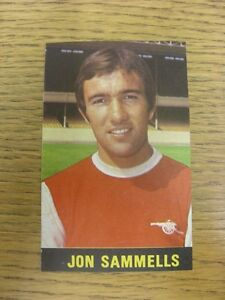 19691970 Football Pictorial CutOut Top Team Set  Arsenal  Sammells Jon Un - Birmingham, United Kingdom - Returns accepted within 30 days after the item is delivered, if goods not as described. Buyer assumes responibilty for return proof of postage and costs. Most purchases from business sellers are protected by the Consumer Contr - Birmingham, United Kingdom