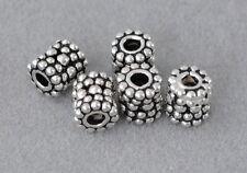 Charms Altsilber DIY Vintage Schmuck Spacer Perlen 925 Silber Zwischenteile
