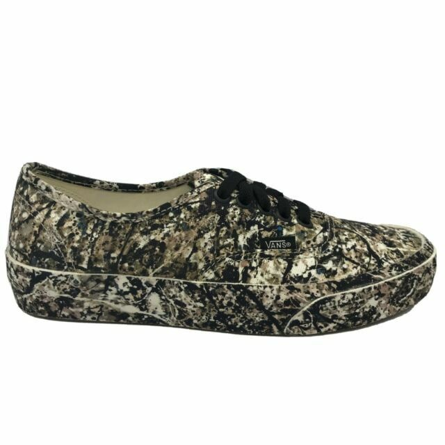 Size 9 - VANS Authentic x MoMA Jackson Pollock's One: Number ...