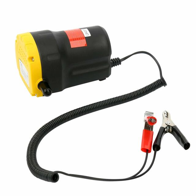 Replacement Parts TAKPART 12V Oil Suction Pump Suction Transfer ...