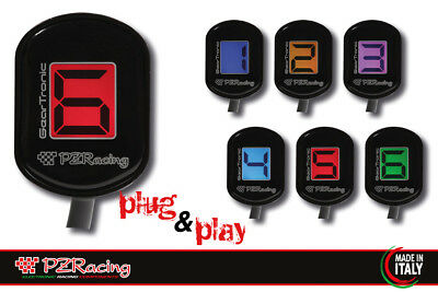 Contamarce Plug&play Geartronic Zero Triumph Rocket 3 2004-2011 Pzracing Famoso Per Materiali Selezionati, Disegni Innovativi, Colori Deliziosi E Lavorazione Squisita