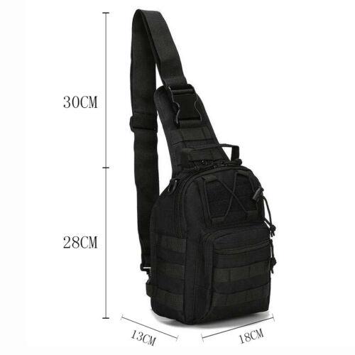 Men Small Outdoor Tactical Military Chest Bag Messenger Shoulder Bag Fashion Hot