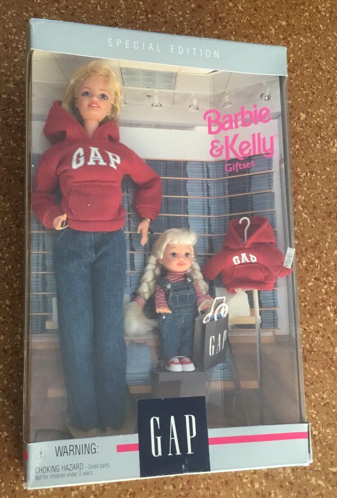 1997 Special edition GAP Barbie & Kelly giftset doll NRFB