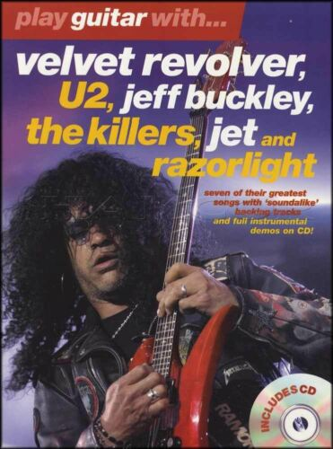 Play Guitar With Velvet Revolver U2 Razorlight TAB Music Book with CD Killers
