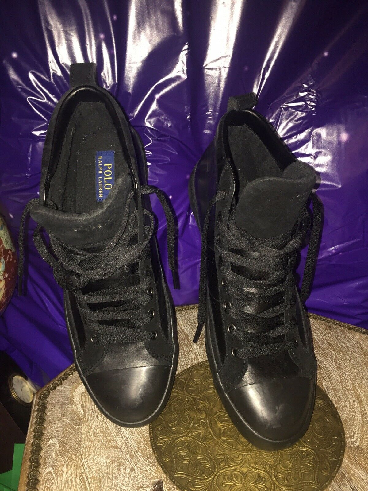 New Polo Ralph Lauren Shoe Leather Size 11 (13267)