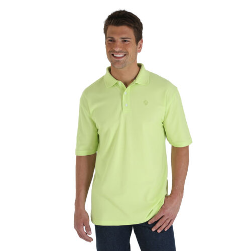 S Short Sleeve Pullover GREEN WRANGLER Mens GEORGE STRAIT Western Shirt