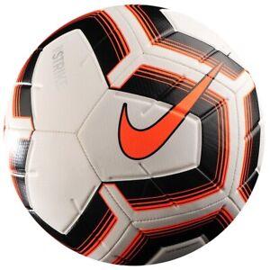 ensayo comentario Ganar control  Soccer Ball Nike Strike Team white/black size 5 Football Fussball Ballon  Pelota   eBay