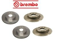 Geo Prizm 90-92 Two Front + Two Rear Disc Brake Rotors Kit Brembo on Sale