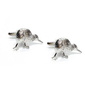 Image Is Loading New Zealand Kiwi CUFFLINKS Rugby Player Fan Bird