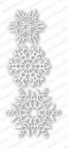 suitable for most die cutters SMALL SNOWFLAKES DIE-Impression Obsession 100F