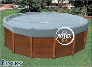 Rotex intex copri piscina copripiscina sequoia copertura telo 11491 dia cm 478 ebay - Telo copri piscina ...