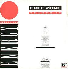 FREE ZONE - Change It - 1991 X-Energy Italy - X-12093