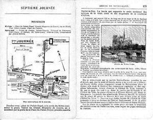 Paris Rivoli Châtelet Notre-dame 1925 Guide (14 P) Arts-et-metiers Hôtel Ville Hw8gr73x-07233308-578598832