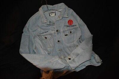 VERY RARE VTG 1995 TOM PETTY CREW EMBROIDERED TOUR DENIM JACKET EX COND XXL