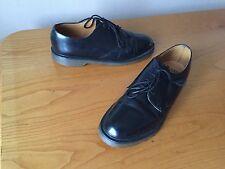 Vintage Dr Martens Black 1462 leather shoes UK 9 EU 43 skin retro ska England.