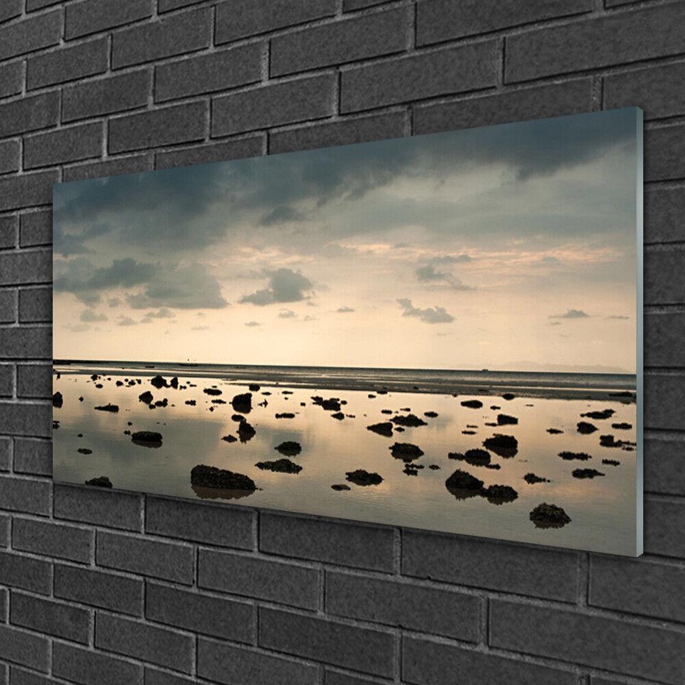 Tableau sur Plexiglas® Image Impression 100x50 Paysage Eau