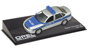OPEL-Vectra-B-Police-VOITURE-MINIATURE-COLLECTION-IXO-1-43-CAR-AUTO-91