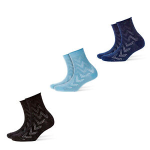Burlington-Women-039-s-Socks-Pixel-Zig-Zag-1-Pair-Fashion-One-Size-36-41-Color