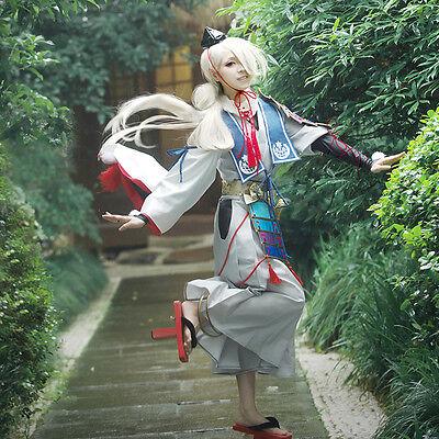 Touken Ranbu Online the sword dance ima no tsurugi Cosplay Kostüm Perücke Kimono