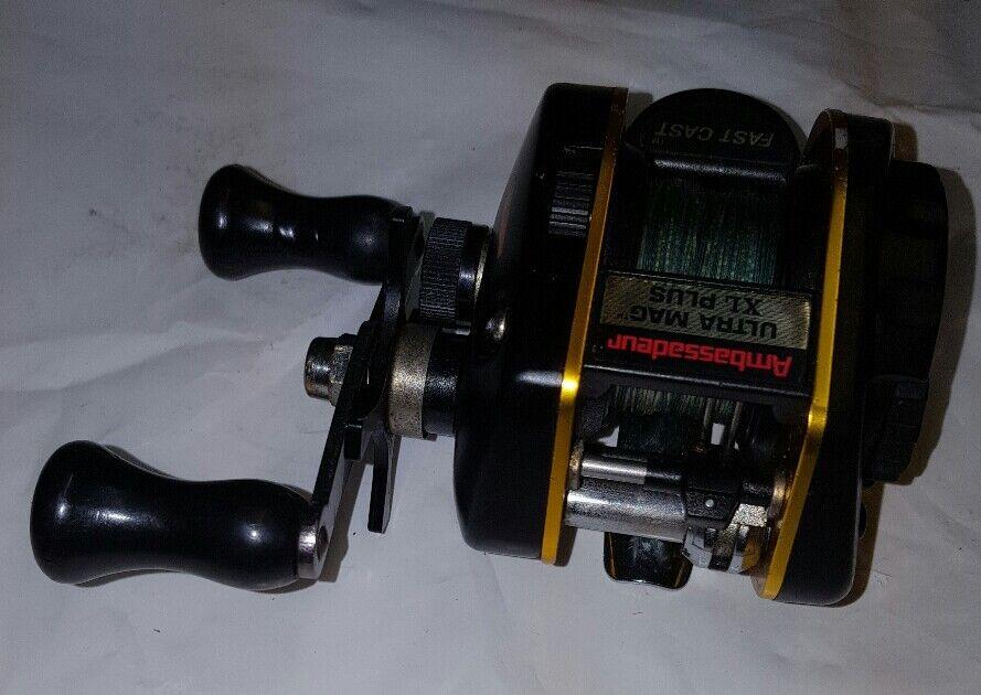 Abu bait ultra max xl plus bait Abu casting  reel b3895a
