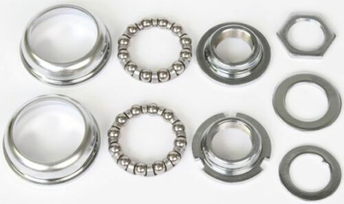 Bicycle Bottom Bracket Set Sunlite 1 Piece 28TPI Silver Bike Replacement Parts