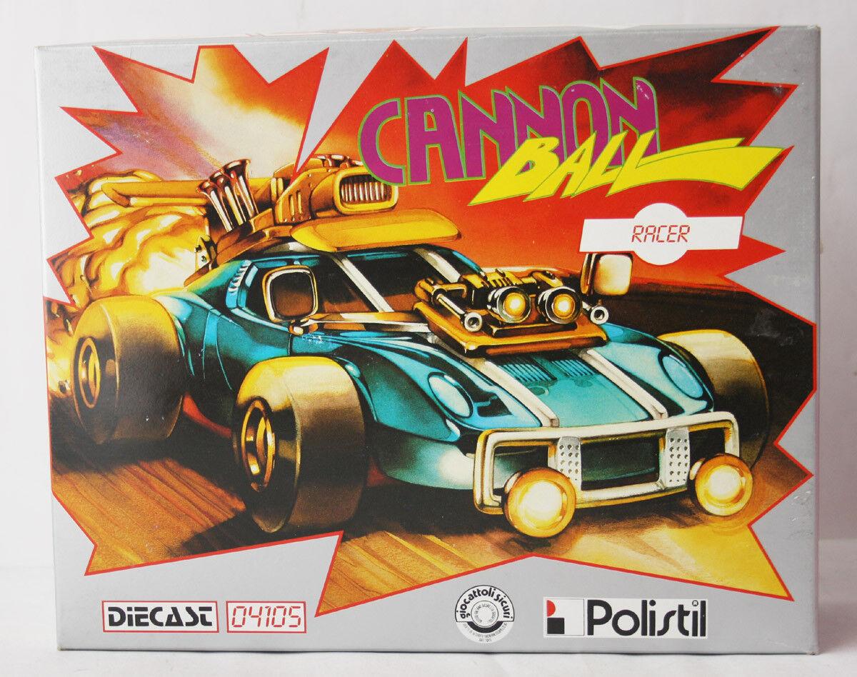 Rara De colección años 80 Polistil Cannon Ball Racer 1 25 Die Cast Kit 04105 Italia  nuevo
